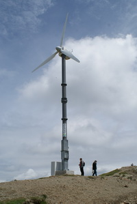 horizontal small wind turbine with 30kW