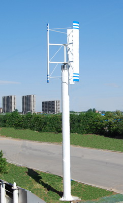 Vertical small wind turbine by Toyoda