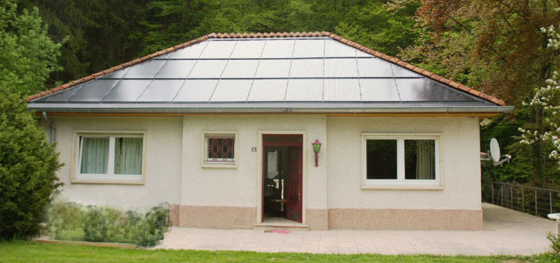 roof integrated photovoltaic system