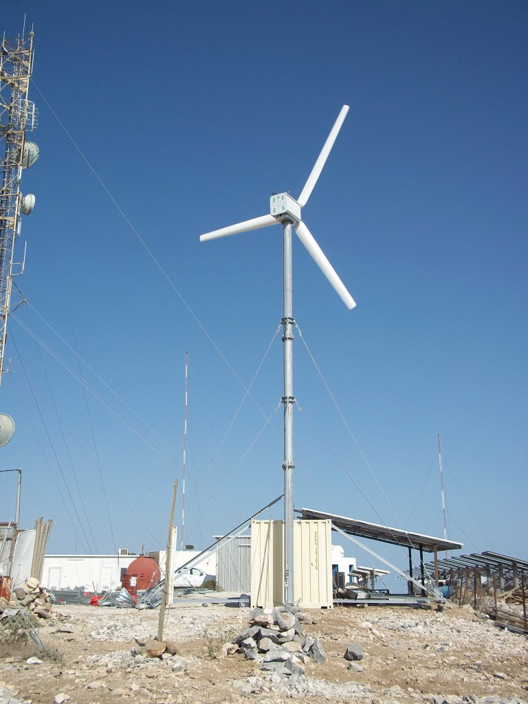 10kW Windturbine in Djibouti Mount Day