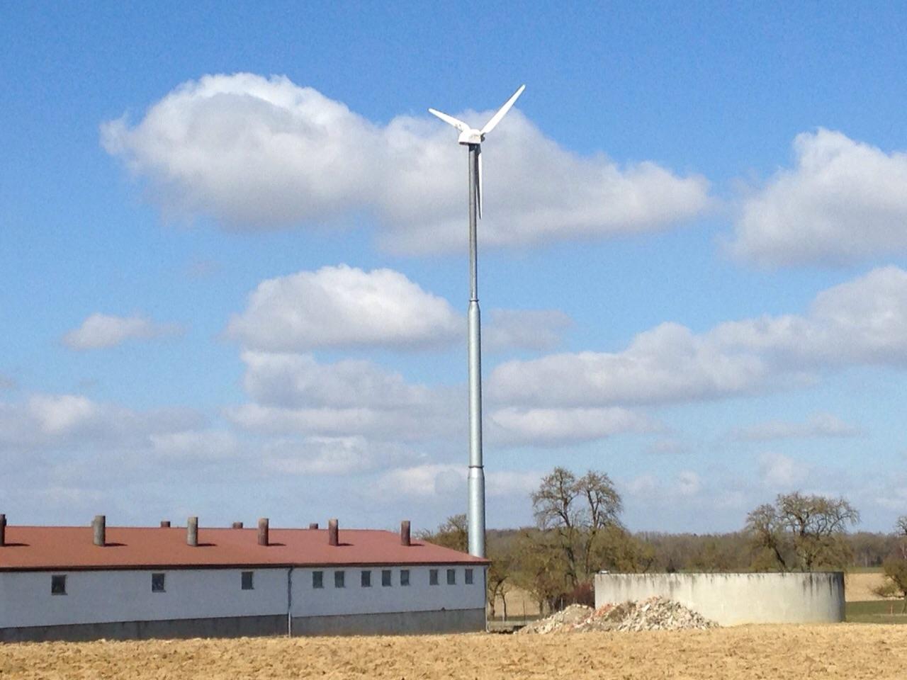 Vertikale windkraftanlagen hartmann